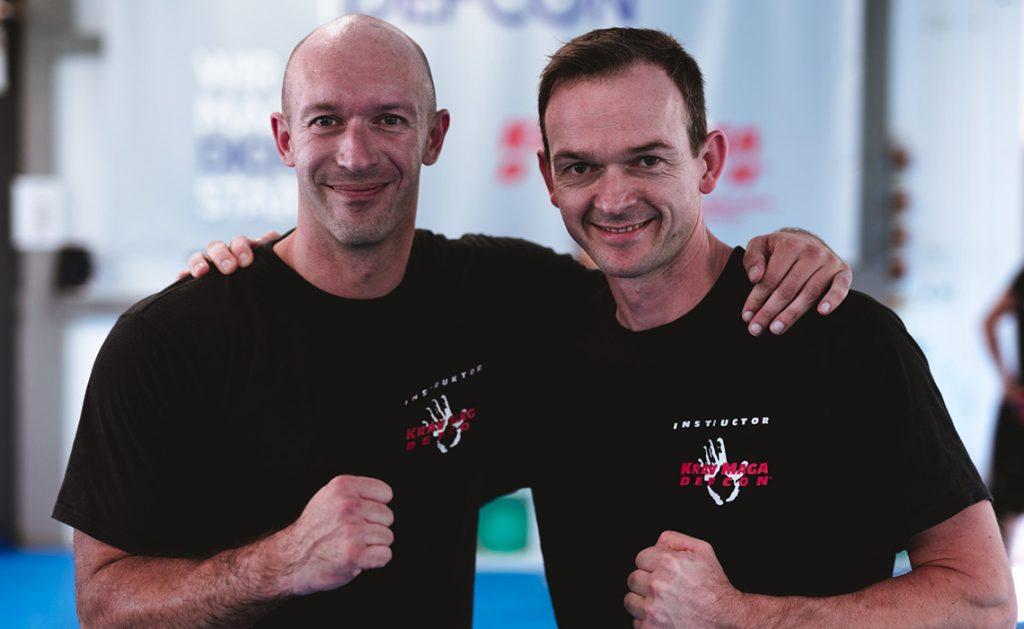 Schulleiter Torsten Fischer & Andreas Diersch