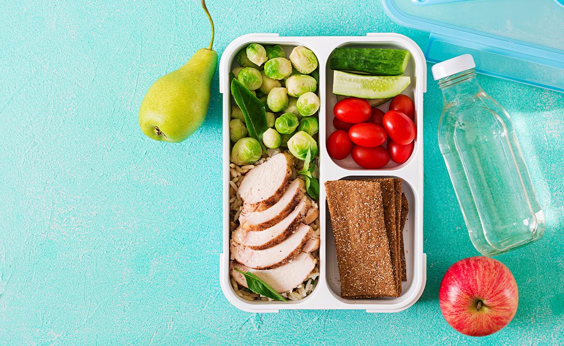 Gesunde Ernährung - mehr als nur ein Pausenbrot!